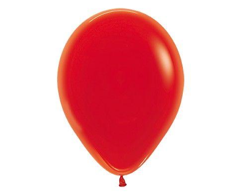 Гелиевый красный шар