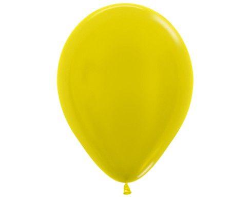 Желтый гелиевый шар