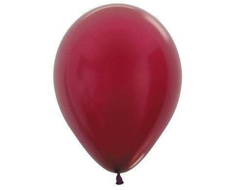 Бордо гелиевый шар
