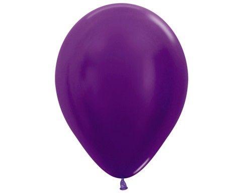 Фиолетовый гелиевый шар