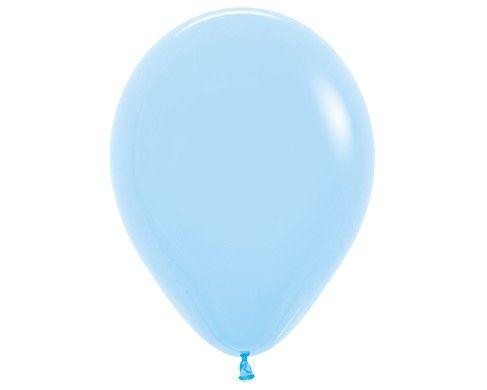 Лазурный гелиевый шар