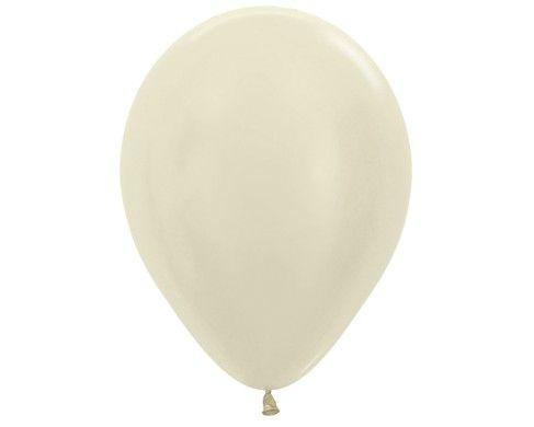 Гелиевый шар жемчужный
