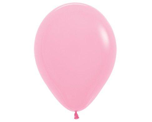 Розовый гелиевый шар