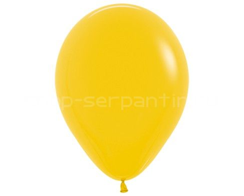 Лимонный гелиевый шар